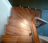 Escalier vertige
