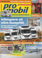 Titelseite ProMobil 12/2018