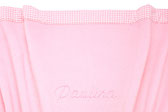Babykuscheldecke rosa, personalisiert