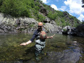pêche dans la Dourbie