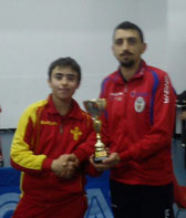 Roberto Manzella vincitore cat. Under 15