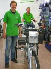 Vorteile von Elektrodreirädern