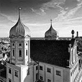 das barocke Rathaus von Augsburg