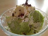 Eis - sauerampfer und Limetten