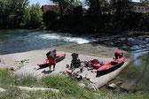 Rapida del Canoa Club.