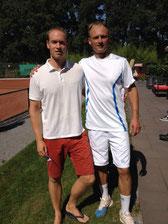 Finalist Weyen und Sieger Jakunin