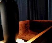 星空や夕暮れ時をイメージした内装で 入酵中瞑想状態に導きます。