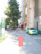定禅寺通り沿い