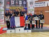 Résultats championnat d'Europe de krav maga 2018