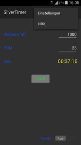 SilverTimer App Funktion 02