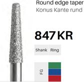 FG-Diamant 847KR, Konus Kante rund