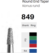 FG-Diamant 849, Konus rund
