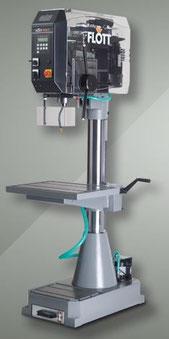 Flott Säulenbohrmaschine SB P40 STG PV electronic