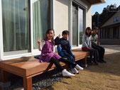 ウッドデッキ、イタウバ、家庭菜園、施工例