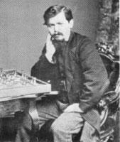 Wilhelm Steinitz, primer campeón del mundo oficial de ajedrez.
