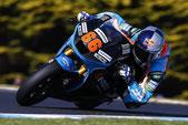 Florian Alt 2015 in der Moto2 in Australien