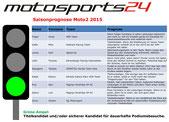 Grüne Ampel Moto2