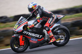 Sandro Cortese in der Moto2 2015 in Australien
