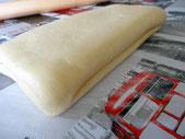 Vous obtenez ainsi 4 couches de pâte ( tour double)