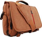 Schmucke Laptoptasche 17 Zoll aus Leder für Männer; bestehend aus PU