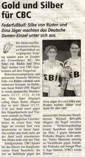 Cronenberger Woche Bericht vom 15.10.2004