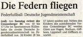 Westdeutsche Zeitung Vorbericht vom 01.10.2004