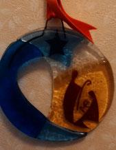 ベネチアからのお土産にいただいた小さな、でも、色合わせがとても素敵で、存在感のあるナシミエント