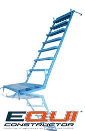 Escaleras internas para andamios