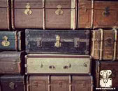 old chest trunk wood