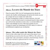 La cave du Manoir des Tours
