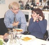 Giuseppe Farinato con cantante Giorgia (con Pasta di Casa Farinato)
