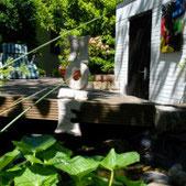 Gartenskulptur der Kunstagentur Bild und Raum