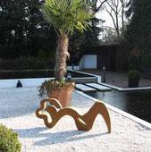 Kunst am Pool der Kunstagentur Bild und Raum