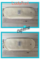 Nanette Slipeinlage Backup Menstruation Monatshygiene Lady cuptime weiße Zeit  und Ausfluss Menstrual Cup Menstruationstasse Copetta