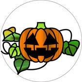ハロウィーン(10月25日)を盛り上げるウィンドウ・チャーム