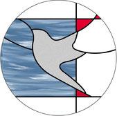 平和のハトのデザインのウィンドウ・チャーム