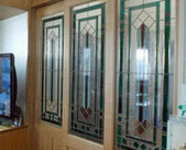 ドアのステンドグラス