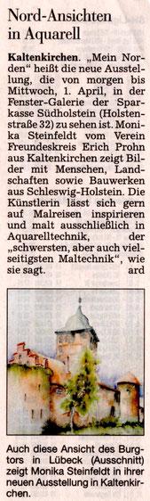 Segeberger Zeitung 03.02.2015