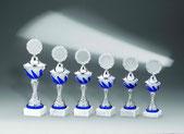 Günstige Pokale, Kleinstpokale, Glastrophäen, Sportfiguren (auch in größeren Auflagen), Medaillen, Plaketten, u.v.m.