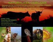 TERCERA EXPOSICION NATURALEZA CERCANA