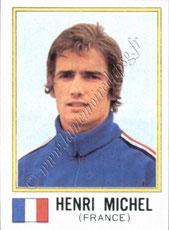 N° 376 - Henri MICHEL (1974, France > 1990-91, Entraîneur PSG)