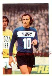 N° 171 - Mordechai SPIEGLER (1972-73, Paris FC > 1973-74, PSG)