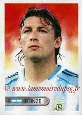 N° 141 - Gabriel HEINZE (2001-04, PSG > 2006, Argentine)