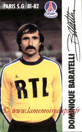 BARATELLI Dominique  81-82