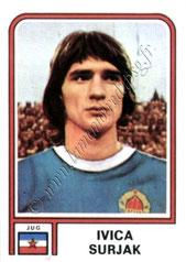 N° 368 - Ivica SURJAK (1974, Yougoslavie > 1981-82, PSG)
