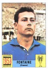 N° 033 - Just FONTAINE (1958, France > 1973-76, Directeur sportif puis entraîneur du PSG)