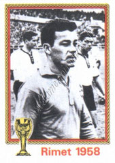 N° 037 - Just FONTAINE (1958, France > 1973-76, Directeur sportif puis entraîneur du PSG)