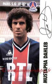 DAHLEB Mustapha  81-82