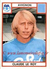 N° 019 - Claude LE ROY (1975-76, Avignon > 1997-98, Directeur sportif PSG)