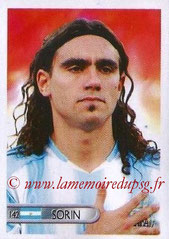 N° 142 - Juan Pablo SORIN (2006, Argentine > 2003-04)
